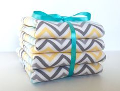 Baby Wash Cloth Set Children's Wash Cloths by BeastiesBabies