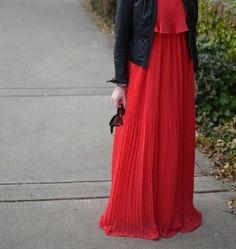 #dress #fashion #hijab #style #red