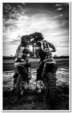 black enduro motorcycleYou can find Motocross and more on our website. Dirt Bike Girl, Dirt Bike Couple, Biker Couple, Motorcycle Couple, Enduro Motorcycle, Motorcycle Wedding, Girl Bike, Motorcycle Touring, Motorcycle Quotes