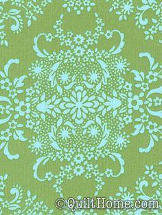 Organic Soul ORAB005-Pine Organic Fabric by Amy Butler ($14.95/yd)