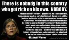 Elizabeth Warren for president!