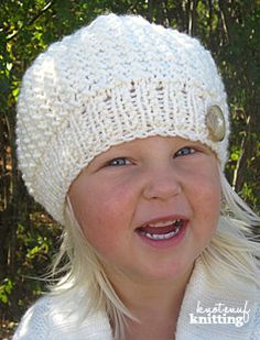Cozy Fall Beanie is a knitting pattern for a seamless knitted slouch hat or beanie. This simple knit hat is a great fall project, available in sizes newborn to adult. Knit this hat in any colour you would like! Click through to get the pattern from KnotEnufKnitting.