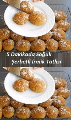 Cold Semolina Dessert in 5 Minutes - - Italian Lemon Pound Cake, Cake Recipes, Dessert Recipes, Salted Caramel Brownies, Breakfast Toast, Iftar, Recipe Images, Fun Desserts, Food And Drink