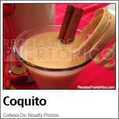 Coquito Tradicional  (Recetas De Puerto Rico)