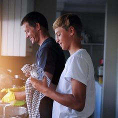 5 Team-Building Activities For Teens To Build Trust and Cooperation Bonding Activities, Activities For Teens, Team Building Activities, Washing Dishes, Father And Son, First Day Of School, Sons, Sleepover, Couple Photos