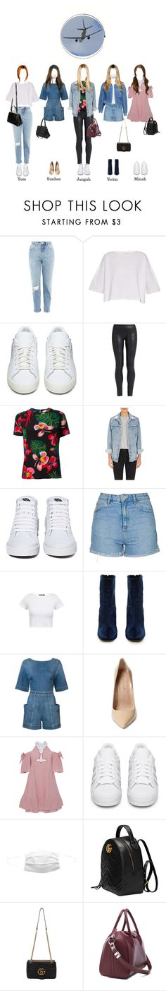 """""""SOLAR @Disembarking in Seoul"""" by solarofficial ❤ liked on Polyvore featuring Topshop, Helmut Lang, adidas Originals, The Row, Valentino, GRLFRND, Vans, E L L E R Y, STELLA McCARTNEY and Maiden Lane"""
