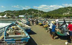 la libertad port fish market - a great stop off en route to San Salvador #JLAinspired