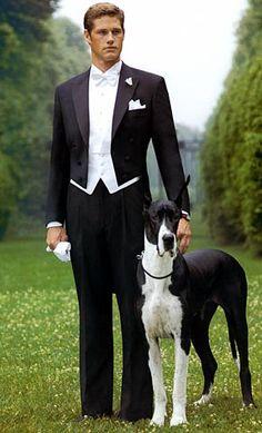 Color Forums / Wedding / I Hue / Wedding Dress Code: Black Tie or White Tie? Fashion Moda, Look Fashion, Mens Fashion, Sharp Dressed Man, Well Dressed Men, Tuxedo Wedding, Wedding Tuxedos, Gatsby Wedding, Post Wedding