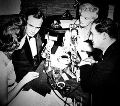 Marlon Brando and Marilyn Monroe; A rare radio interview from 1955, at the premiere of The Rose Tattoo. #Brando