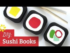 How to Make Sushi Books : Perfect Binding
