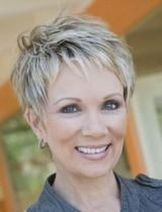 short gray hairstyles | Visuals – Short Hairstyles on Pinterest