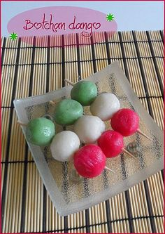 Dango from japan. I want to try this!