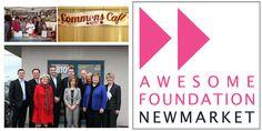 Congratulations Commons Café & Catering on their AWESOME Foundation grant! #Newmarket #AwesomeFoundation
