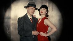 Bonnie and Clyde 2013. Inspiration for Marianne's red dress.