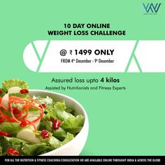 Ensure your overall journey to your new body. Shed those extra pounds with our challenge and experience a whole new level of wow :) WhatsApp us at 88844 33133 to register. Worlds Of Wow, Weight Loss Challenge, Fitness Nutrition, Reduce Weight, 10 Days, Challenges, Journey, Ethnic Recipes, Food