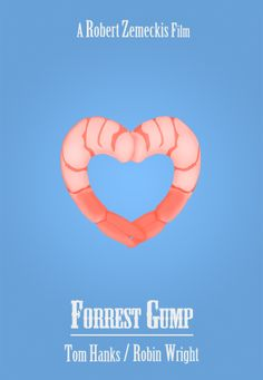 Forrest Gump (1994) ~ Minimal Movie Poster by littlemovienerd #amusementphile