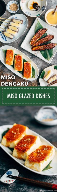 Miso Dengaku (Tofu, Eggplant, Daikon & Konnyaku) 味噌田楽 | Easy Japanese Recipes at JustOneCookbook.com