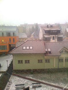 Snow in Klatovy (February 2013)
