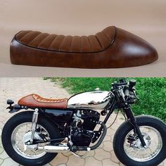 BRAND NEW 1976 1977 cg125 seat CB 250 350 550 650 BROWN CAFE RACER Vintage motorcycle SEAT SPORTSTER Bike
