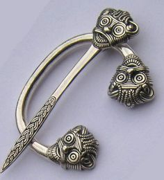 Viking Brooch Replica, made after danish original. http://www.vikingkristall.com/shop