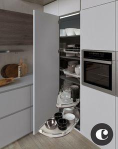 Cestelli Estraibili Per Cucina Ad Angolo.11 Fantastiche Immagini Su Dispensa Ad Angolo Butler Pantry