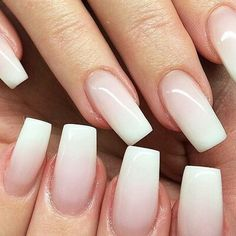 natural acrylic nails tumblr - Google Search