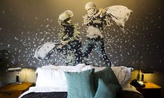 Dubbed The Walled Off Hotel, Banksy's new project just opened its doors along the controversial barrier that separates Israel from the Palestinian territories.