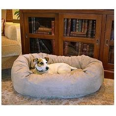 Majestic Pet Products Bagel Dog Pet Bed 24 inch - 1 ea