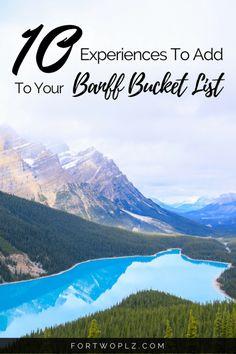 Travel Canada | Road Trip | Banff Guide | Things To Do | Canadian Rockies | Bucket List #bucketlist #banff #lakelouise #canadaroadtrip