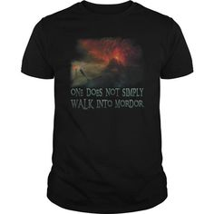 Lord Of The Rings - Walk Into Mordor T-Shirts, Hoodies (26$ ==► Order Shirts Now!)