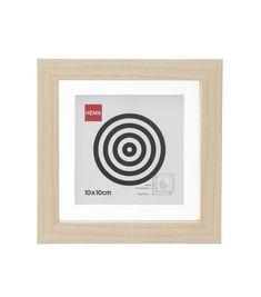cadre photo magnétique 10 x 10 cm - HEMA