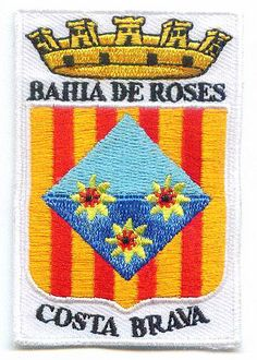 Ecusson ville Bahia de Roses Costa Brava