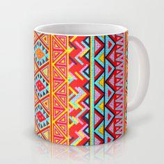India Style Pattern (Multicolor) Mug by Maximilian San - $15.00