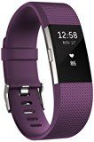 Fitbit Charge 2 Heart Rate and Fitness Wristband - Plum, Small - https://www.trolleytrends.com/?p=360878
