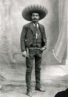"Emiliano Zapata Salazar, Guerrero, Mexico, 1915 - ""If you want to be a bird, fly. If you want to be a worm, crawl. But don't scream when they step on you"""