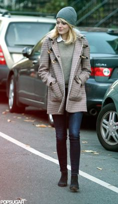 Emma Stone fighting the cold
