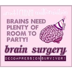 It got a little crowded so we had to expand! #Chiari #Decompression Survivor!