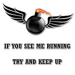 If you see me running, try and keep up Military Love, Military Service, Usmc, Marines, Uss Enterprise Cvn 65, Remember The Fallen, Air Force Mom, Us Navy Ships, Navy Life