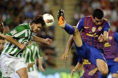 El Betis-Barça en imágenes (12/05/2012)