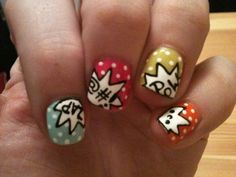 Nails :) This impresses me. Cool...just not for me