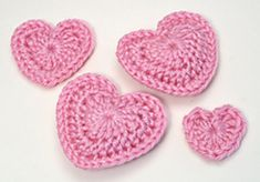 Love Hearts ~ free pattern ᛡ