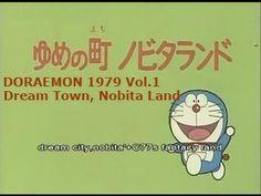 ドラえもん 動画 1979 Episode 1 ゆめの町ノビタランド (doraemon English sub) - YouTube