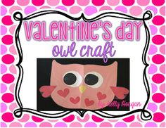 """Guess """"whooooo's"""" going to LOVE this adorable Valentine's Day owl craft?  Your students!  They will have a """"hoot"""" of a time creating these sweet little owls!  Included in this download are 5 pages to serve as your master copy to create your owl and fool-proof directions for how to make copies for a class of 22! (I've already done the math for you!)  I hope this Valentine's Day owl craft brings lots of love to your littles...my students love creating this owl every year!Happy Valentine's…"""