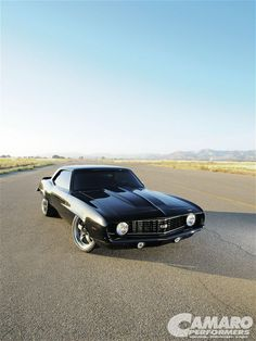 I am going to build my very own 1969 Chevy Camaro that will look similar to this. Can't wait to get started.