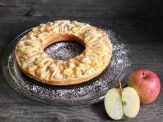 Apfelkuchen - Its Lia's Thing - Camp Souvenir Sweet Pastries, Food Diary, Dessert Recipes, Desserts, Four, Apple Recipes, Bagel, Doughnut, Oatmeal