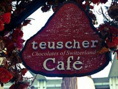 Teuscher Chocolates & Cafe - the Swiss chocolatier has shops in San Diego and Beverly Hills.