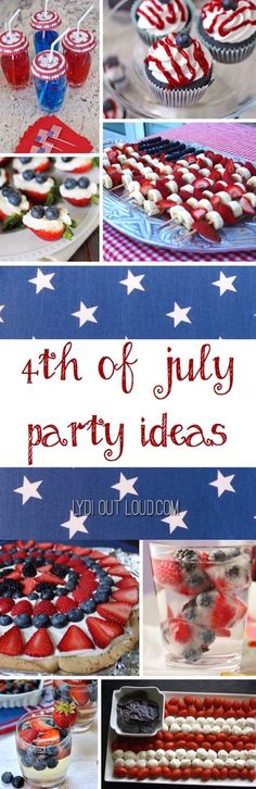 Amazing recipes and decor for the 4th of July!