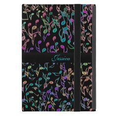 Personalized Colorful Music Notes iPad Mini Case