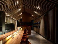 Maedaya Grill & Sake Bar in Melbourne, Australia by Architects EAT.