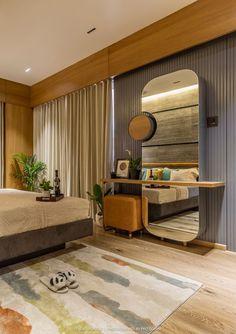 Study Room Design, Home Room Design, Home Interior Design, House Design, Bedroom Bed Design, Bedroom Furniture Design, Flat Interior, Apartment Interior, Dressing Table Design